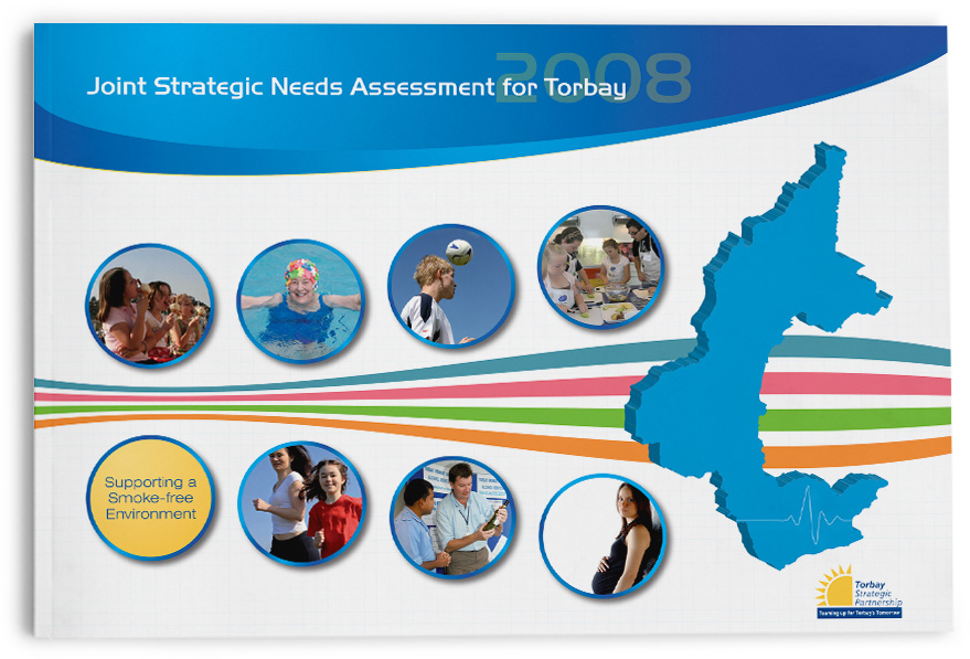 nhs torbay annual report design