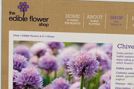 The Edible Flower Shop
