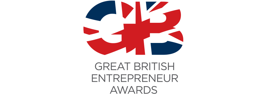 great british entrepreneur awards logo design