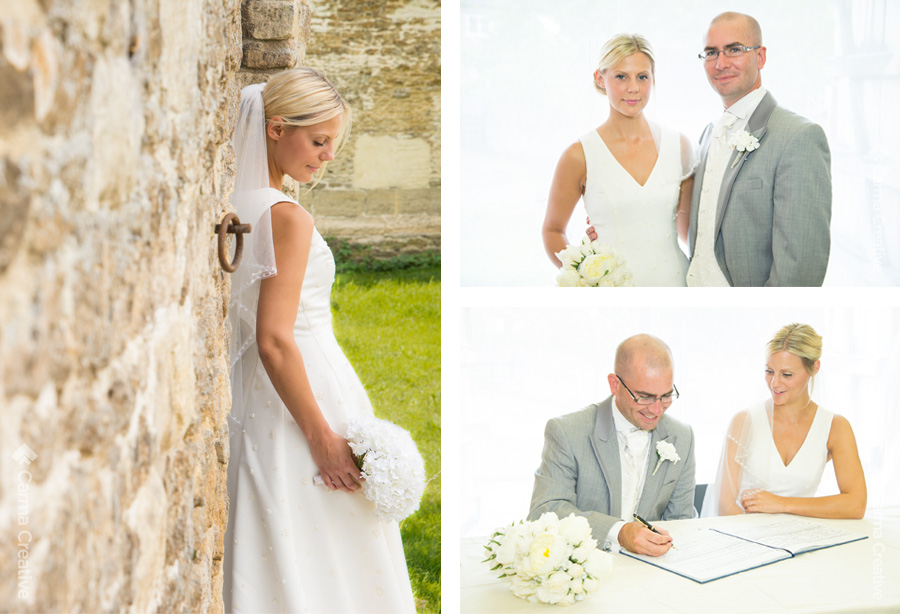 wedding photography for bride and groom devon