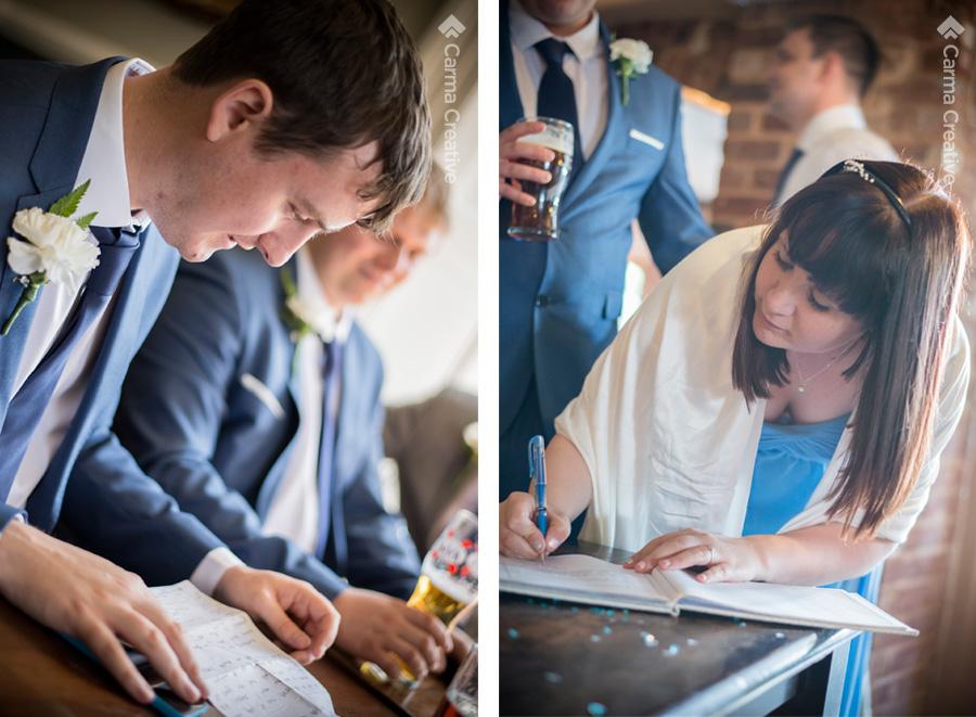 wedding photography for groom preparation devon