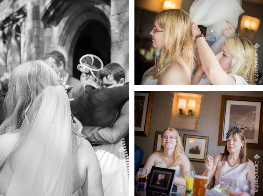 candid and reportage wedding photography devon