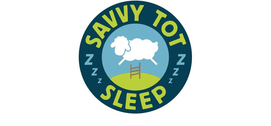 savvy tot sleep logo design