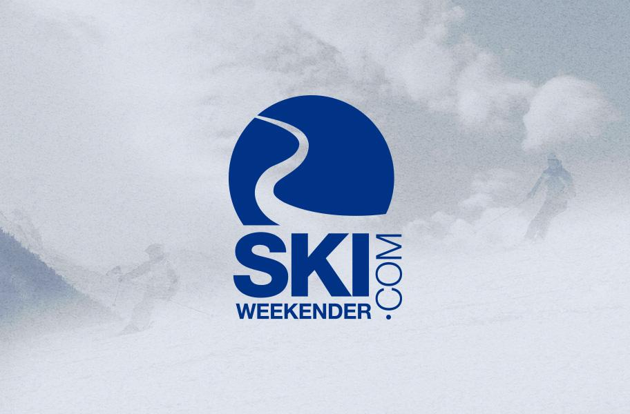 ski weekender logo design