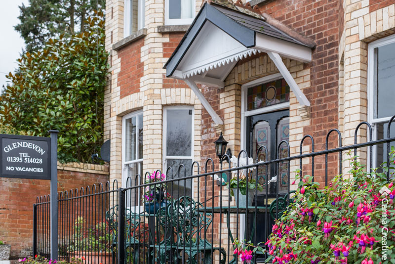 glendevon bed and breakfast sidmouth exterior shot