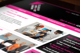 college north west london website design exeter