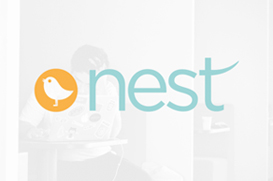 logo design nest student lettings exeter
