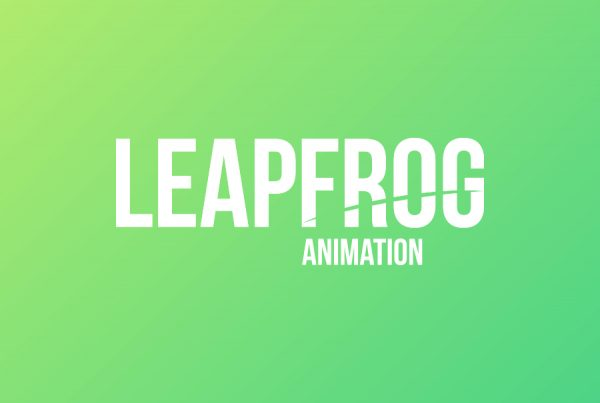 leapfrog animation logo design