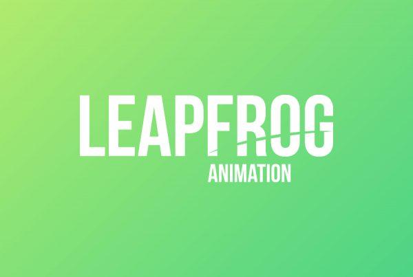 leapfrog animation logo design