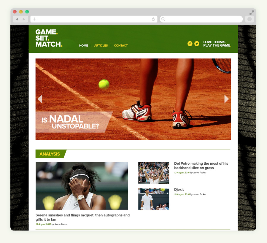 game set match tennis blog website