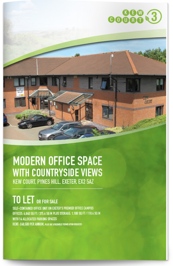 stratton creber commercial property brochure design