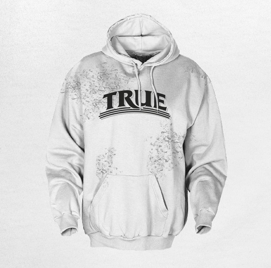 true organic inc hoodie design
