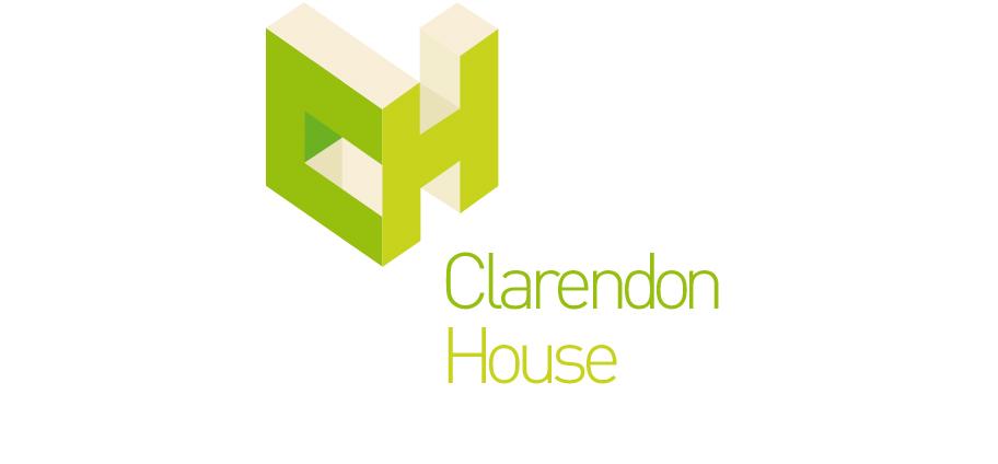 clarendon house logo design