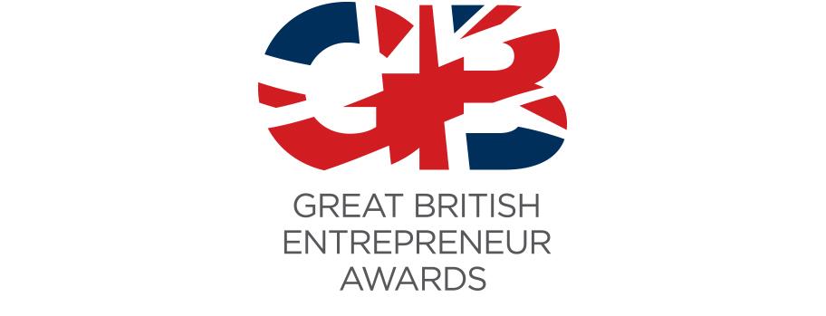 great british entrepreneur awards logo design