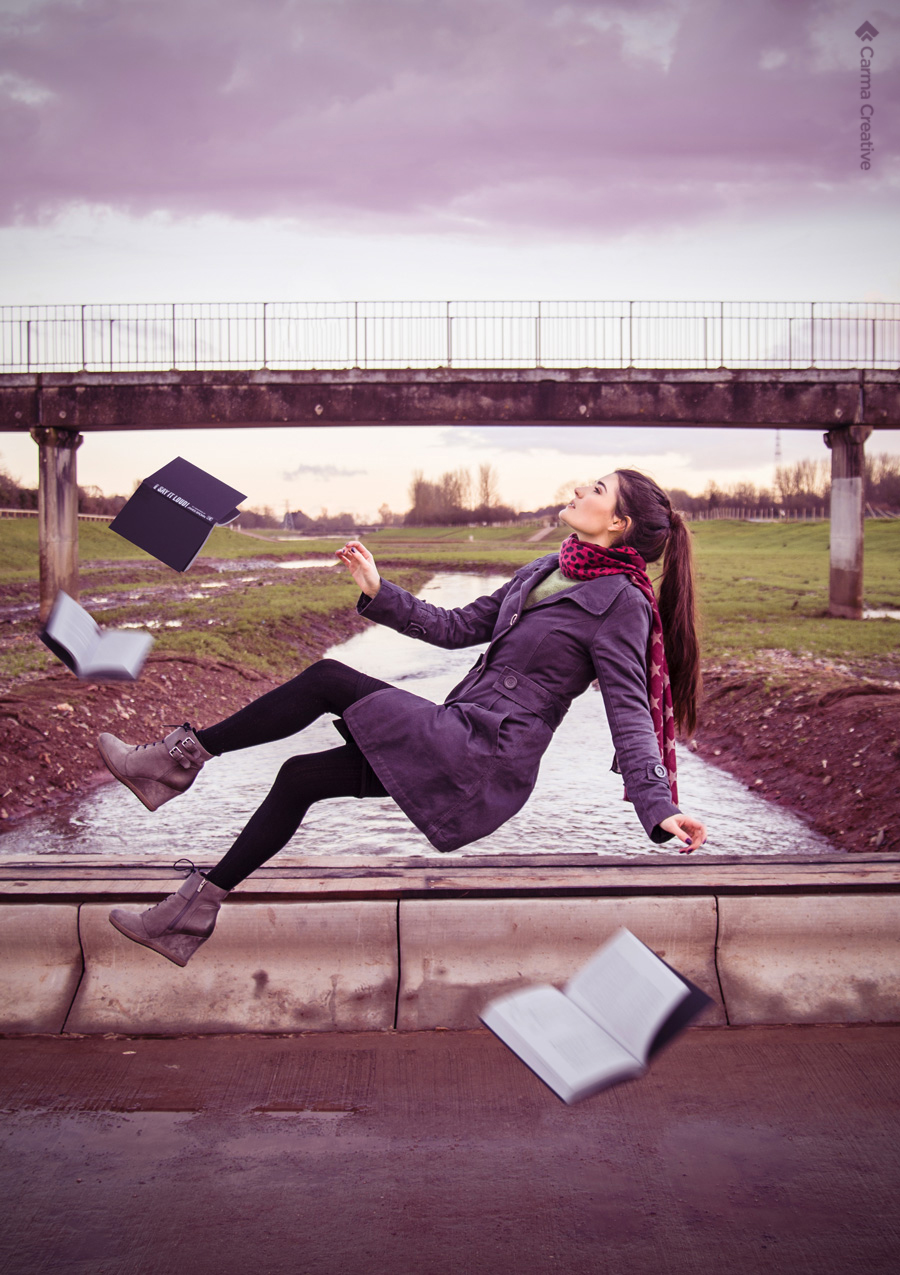 creative levitation photography