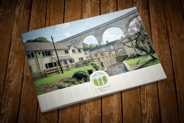 chelfham mill property brochure design
