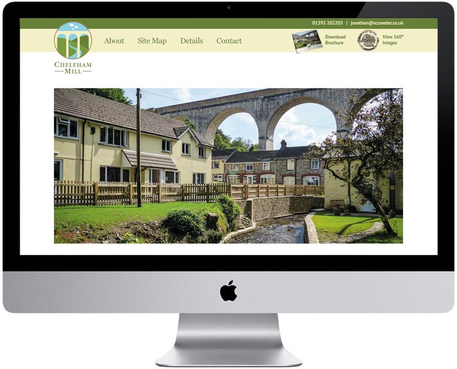 chelfham mill responsive web design
