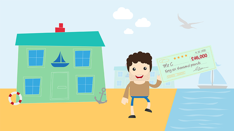 stamp duty review design and animation scene