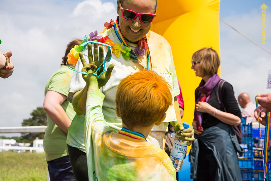 rainbow run exeter childrens hospice care south west